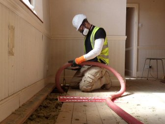 Nuisance noise soundproofing insulation blown for Blown mineral wool cavity insulation